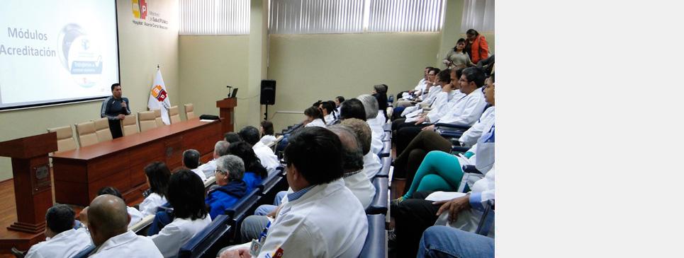 Capacitaciones sobre eventos adversos en seguridad al paciente