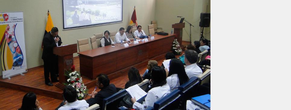 Informe de Gestión 2014 en el HVCM