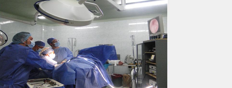Cirugías artroscópicas en el HVCM