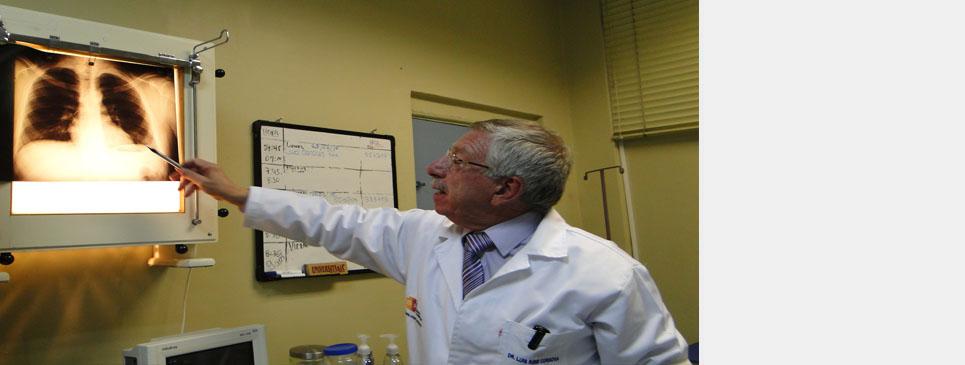 La Neumología, un servicio completo en el Hospital Vicente Corral